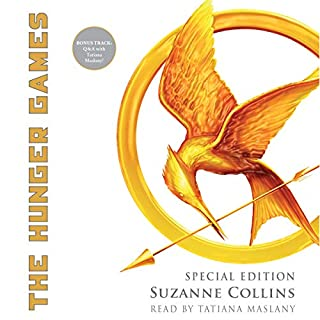 The Hunger Games: Special Edition                   By:                                                                                                                                 Suzanne Collins                               Narrated by:                                                                                                                                 Tatiana Maslany                      Length: 10 hrs and 35 mins     396 ratings     Overall 4.9