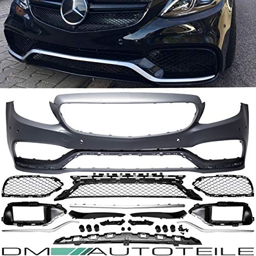 51h5+SPVlJL - DM Autoteile Stoßstange vorne +Grill+ Zubehör passend für C-Klasse S205 W205 C63 15>