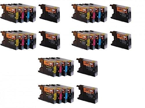 Start - Juego de 30 unidades de cartuchos de repuesto, tamaño XL, compatibles con LC1220 y LC1240, para Brother DCP-J525W, DCP-J725DW, DCP-J925DW, MFC-J430W, MFC-J5910DW, MFC-J625DW, MFC-J6510DW, MFC-J6710DW, MFC-J6910DW, MFC-J825DW y MFC-J835DW