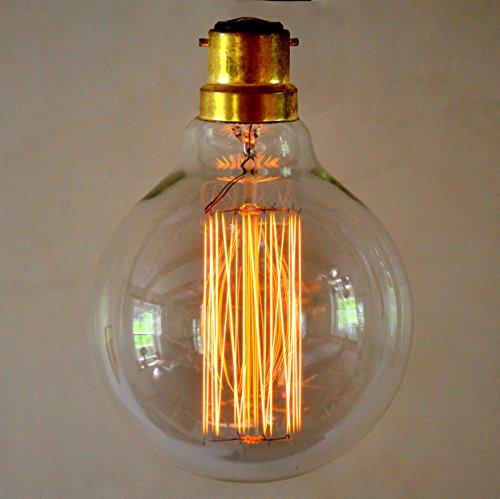 Design Pendule Lampe Luminaire suspendu HOMOLOGUE Lampe industrial antique laiton DEL