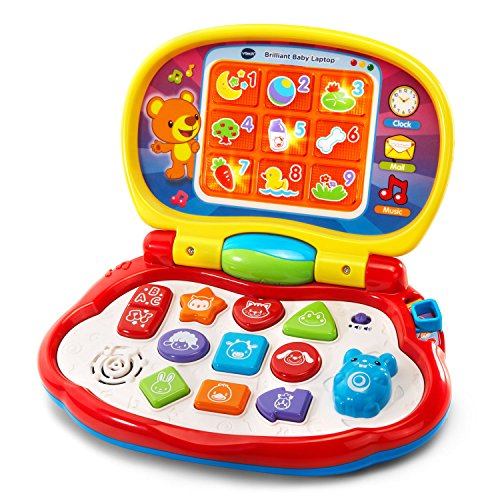 VTech Brilliant Baby Laptop, Red