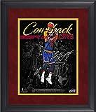 LeBron James Cleveland Cavaliers Framed 11' x 14' NBA Playoffs Largest Halftime Comeback Spotlight - Facsimile Signature - Original NBA Art and Prints