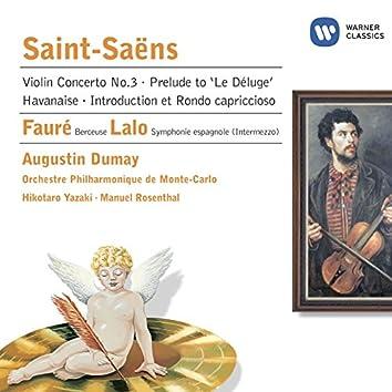 Saint-Saëns: Violin Concerto No 3 etc.