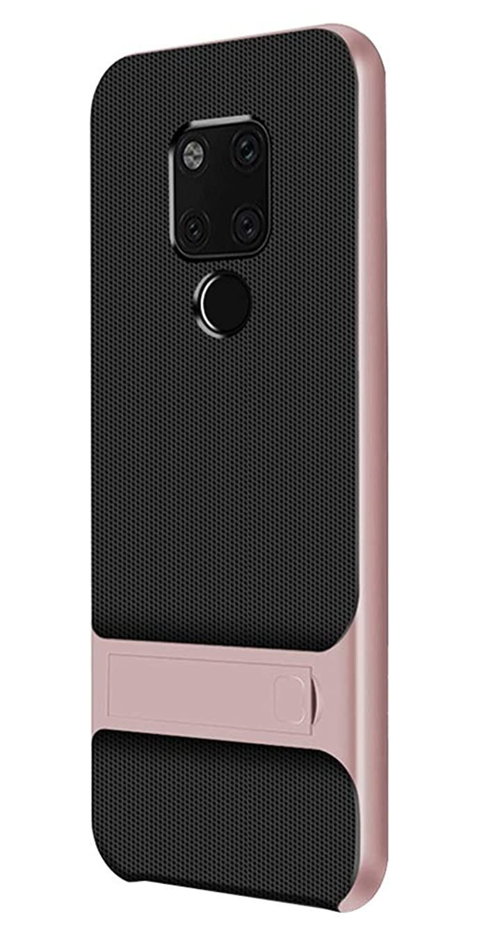 UBERANT Huawei Mate 20 Case, Light Slim 2 in 1 Soft TPU & Hard PC Frame with Stand Function Anti Slip Shockproof Protective Case for Huawei Mate 20 6.53