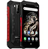 "[page_title]-Ulefone Armor X5 – 4G Outdoor Smartphone Ohne Vertrag, MTK6763 Octa-Core 3GB RAM 32GB ROM, Android 9.0 5.5"" IP68 / IP69K Robustes Handy, Dual-SIM, 13MP + 5MP + 2MP, 5000 mAh Akku, GPS NFC Rot"