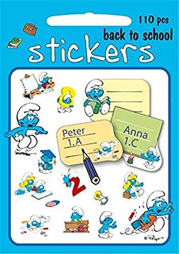 Los Pitufos - Stickers Escuela Pitufa (Barbo Toys 8005) (APPRENTISSAGE)