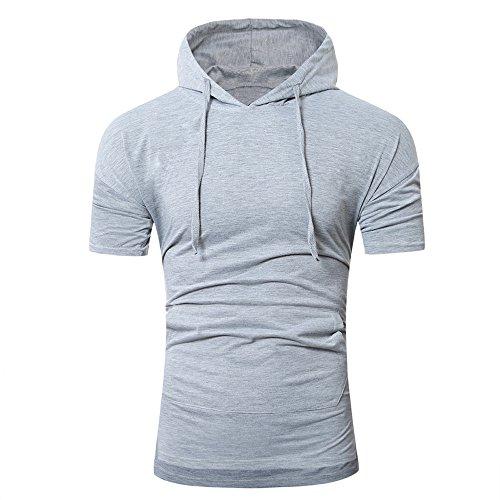 T-Shirt Hommes Manadlian Sweat Patchwork Bodybuilding Skin Chemise à Séchage Serré Jogging Hommes