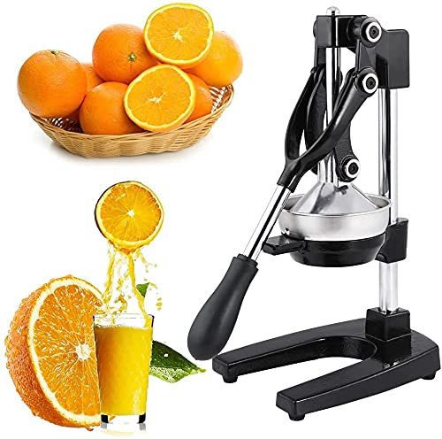 Ghime Hand Press Juicer Heavy Duty Stainless Steel Citrus Manual Juicer and Orange Squeezer - Mutlicolor