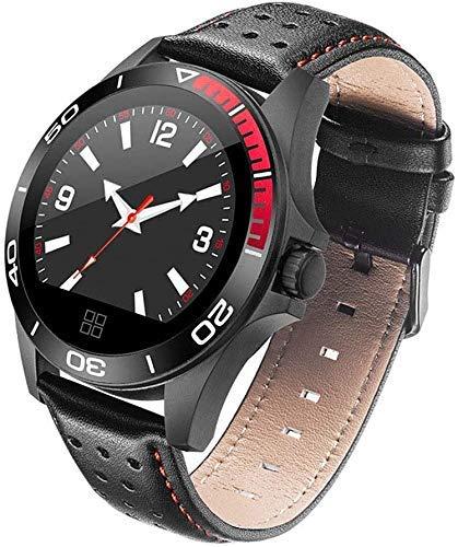 HJTLK Cronómetros Podómetros Reloj Inteligente Reloj Deportivo para Hombres Recordatorio de Llamada Mensaje Presión Arterial Corazón Pulsera Impermeable