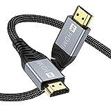 [4K 3M hdmi kabel] Innovative Verbesserung 4K HDMI-Kabel, gebaut mit vergoldeten Anschlüssen und erstklassigen amerikanischen Chips, um eine schnelle und fehlerfreie Signalübertragung zu gewährleisten. Die 4K * 2K Ultra HD-Technologie mit einer Auflö...
