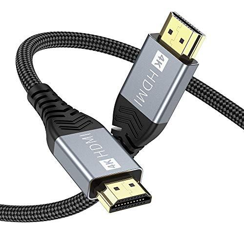 4K HDMI Kabel,ONIOU 3M Highspeed HDMI 2.0 Kabel 4K@60Hz 18Gbps Kompatibel für HD 1080P, HDR, Highspeed mit Ethernet, ARC, PS3/PS4, Xbox One/360, HDTV und Monitor