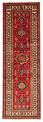 Nain Trading Kasak 180x58 Orientteppich Teppich Läufer Rost/Dunkelrot Handgeknüpft Pakistan
