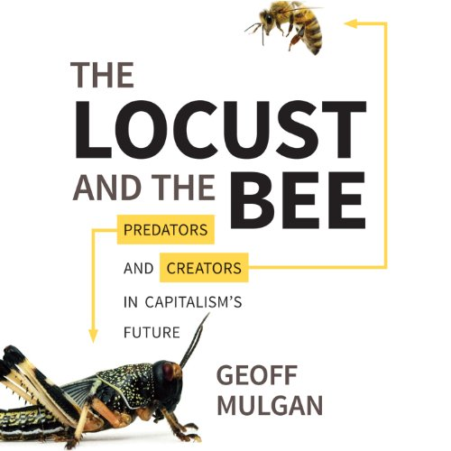 The Locust and the Bee audiobook cover art