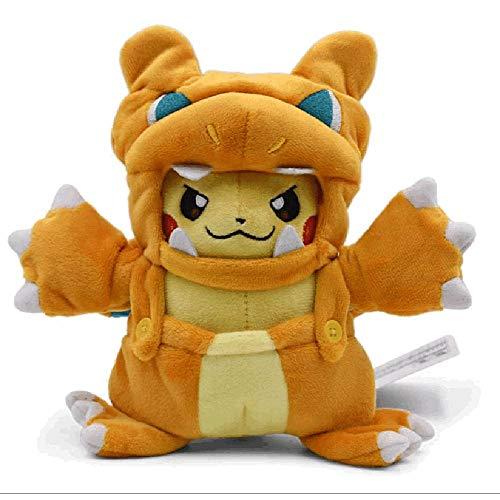 LKYH Peluches Charizard Cosplay Disfraz Pikachu Anime Kawaii Beb Nios Juguetes 20cm