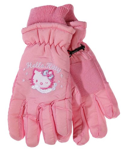 Hello kitty - Gants de ski enfant fille rose clair 4/6ans