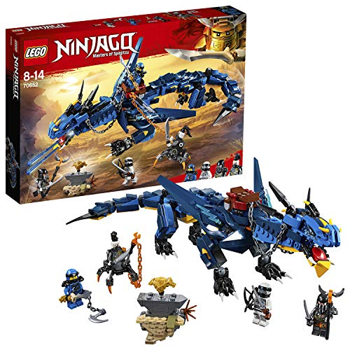 LEGO 70652 NINJAGO Stormbringer Dragon Toy, Masters of Spinjitzu Action Figure