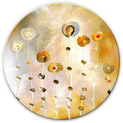 Glasschilderij Niksic Golden Eye O 30 Cm Wall Art Wanddecoratie Rond Schilderij Van Glas Wandcirkel Kunst Op Glas Amazon Nl Wonen Keuken