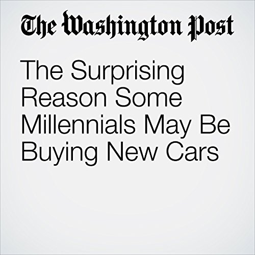 The Surprising Reason Some Millennials May Be Buying New Cars copertina