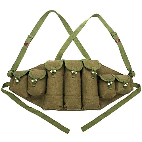 Chinese Army Military Type 56 Chest Rig AK47 Magazine Pouch Bag Ammo Bandolier Reproduction