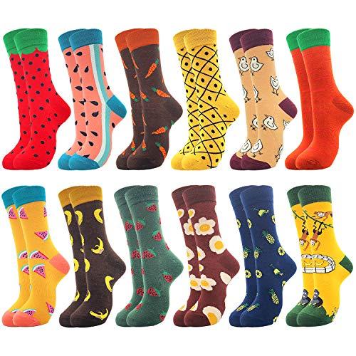 Belloxis Lustige Socken Damen Bunte Witzige Coole Baumwoll Ausgefallene Socken Geschenke