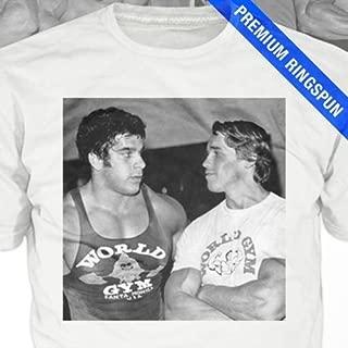 Workout T-Shirt - arnold schwarzenegger, lou ferrigno, tee shirt, mens, gift, mr olympia, pumping iron, weight lifting, tshirt