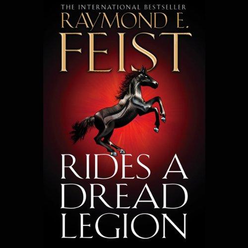 Rides a Dread Legion audiobook cover art