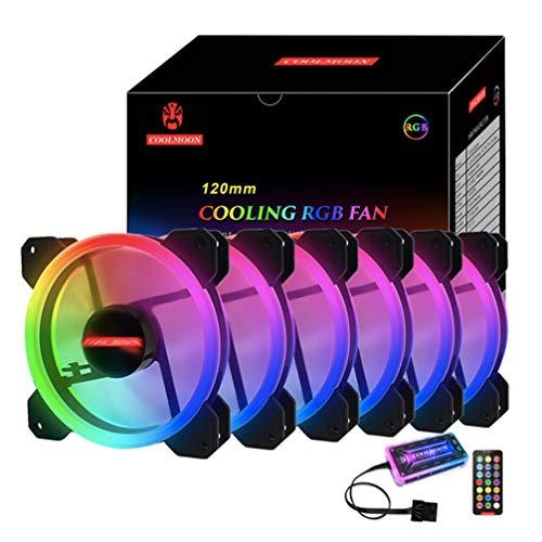 Non Branded Ventilador de la computadora Caja de PC RGB Ventilador de refrigeración