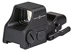 Up to 1,000 hours of battery life Adjustable quick-detach weaver mount Cast aluminum alloy housing with protective shield Red and green reticle illumination and multiple reticles Unlimited eye relief
