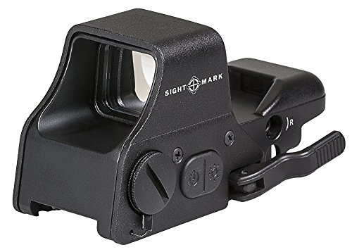 Sightmark Ultra Shot Multi Red & Green Plus Reflex Sight, Black (SM26008)