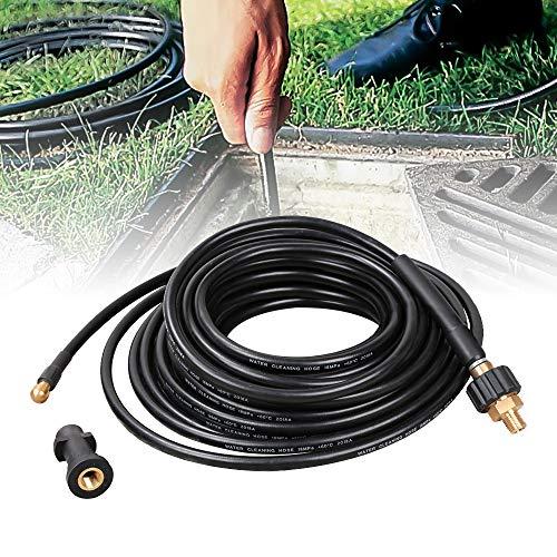 Rohrreinigungsschlauch 180bar 15m Rohrreinigungsset geeignet für Hochdruckreiniger Kärcher