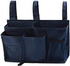 HIZGO Pocket Organizer,Big Hanging Storage Bag Organizer 8 Pockets for Bunk and Hospital Beds, Dorm Rooms Bed Rails Multifunctional Caddy
