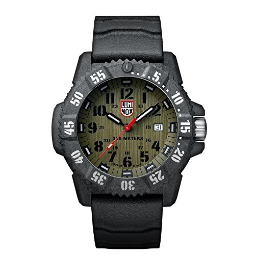 Luminox Carbon SEAL Herren-Armbanduhr Analog Quarz Kautschuk - XS.3813
