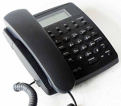 SIP IP-Telefon Netphone KE1020A | unlocked VoIP-Telefon | Schwarz