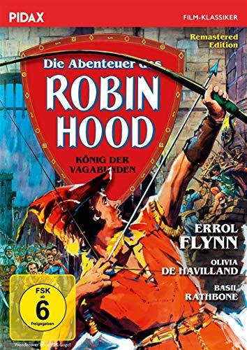 Die Abenteuer des Robin Hood - König der Vagabunden / Preisgekrönter Abenteuerfilm mit Starbesetzung (Pidax Film-Klassiker)