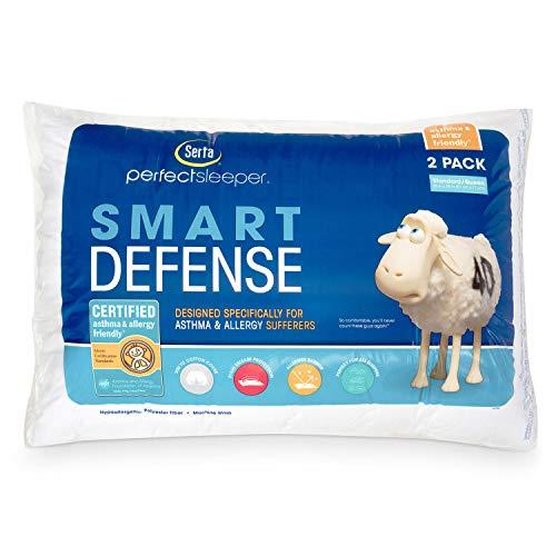 NEW 2 Serta Standard/Queen Bed Pillow Pillows