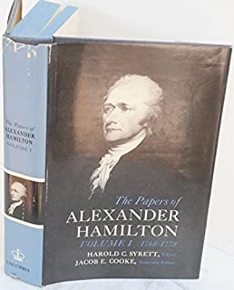 The Papers of Alexander Hamilton (1768-1778)
