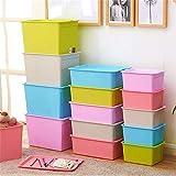 XINZ-BYT Shoe Rack Rollable Up Room Tidy Storage Brustspielzeugkiste für Mädchen und Jungen □ Perfekt für Haushaltsräume, Stoffe oder Spielzeug Kindermöbel (Farbe: Rot, Größe: Freie Größe) Shoebox