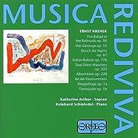 Krenek: Songs by Katherine Arthur (1999-12-15)