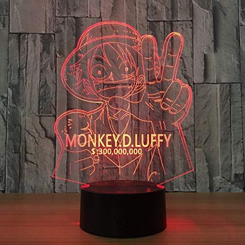 jiushixw 3D acryl nachtlampje met afstandsbediening kleur tafellamp Japan de hele weg zichtbaar kind geschenk baby vintage houten tafellamp vliegen