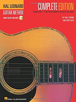Hal Leonard Guitar Method: Complete Edition (Book/Online Audio) [Lingua inglese]