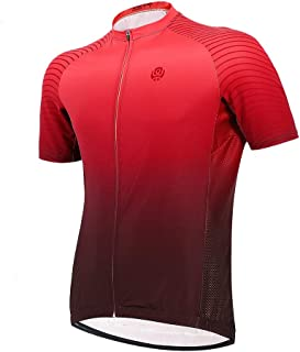 Yorten Graded Cycling Wear Cycling Sportswear Cycling Clothing Quick Dry Sport Tops Shirt Short Sleeve