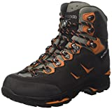 Lowa Herren Camino GTX Men Trekking- & Wanderstiefel, Schwarz (Schwarz/orange 920), 45 EU