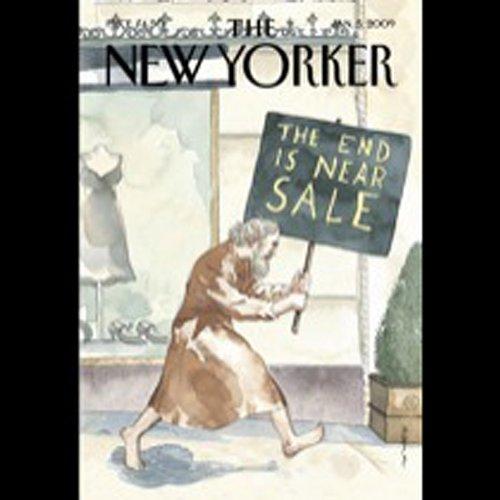 The New Yorker, January 5th, 2008 (Patricia Marx, Jonathan Harr, Kate Julian) cover art
