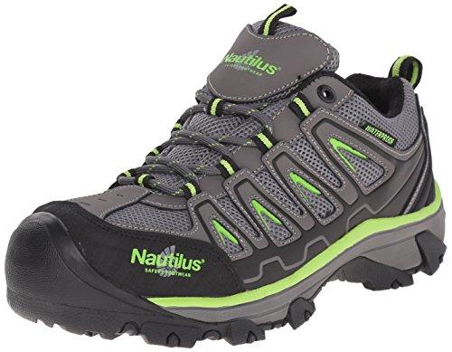 Nautilus Acero Calzado Especialidad EH N2208 Hombres Acero Toe Zapatos de Senderismo, gris, 10.5