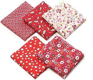 Faça você mesmo patchwork feito à mão pequeno tecido floral roupas de algodão Artesanato tricô Decorações internas Uso dom...
