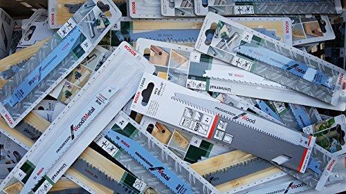 Preisvergleich Produktbild Bosch Säbelsägeblätter Set 30 tlg BIM HCS für Säbelsäge Tigersäge Fuchsschwanz