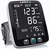 [All New 2020] Blood Pressure Monitor by LAZLE: Automatic Upper Arm...