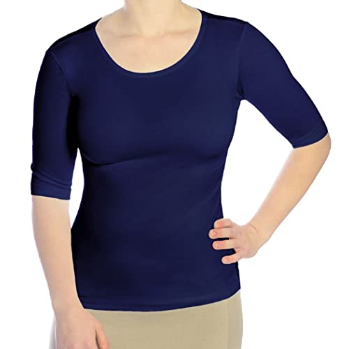 top design really comfortable best service Elbow Length Tops: Amazon.com
