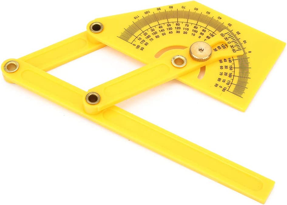 Limited time sale Shipenophy Pointer Protractor Ruler Max 44% OFF Protract Durable Angle