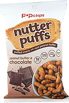popchips  NOT A CASE  Nutter Puffs Peanut Butter & Chocolate